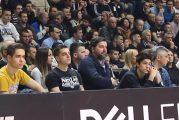 Reakcija Dejana Bodiroge na utakmici Partizan - Darušafaka (VIDEO)