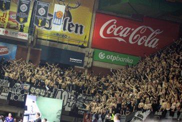 Partizan rasprodao sve ulaznice za Darušafaku