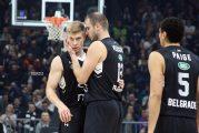 Partizan moćan na startu TOP 16 faze Evrokupa, Virtus pao u paklu Arene (FOTO, VIDEO)