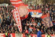 PIRO ŠOU NA BRDU: Delije napravile žurku na meču protiv Čukaričkog (VIDEO)