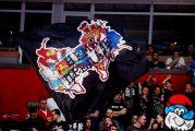 Partizan dočekao Budućnost uz pesmu
