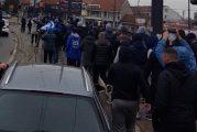 Navijači Anortozisa u Beogradu, došli da podrže plavo-bele! (FOTO, VIDEO)